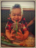 Silly Nephew by KarmeticPeace