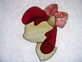 Apple Bloom Stained Glass Suncatcher by captivefancy