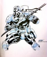 Deathstroke by ScottCohn