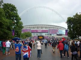 Wembley Stadium 1 by ggeudraco