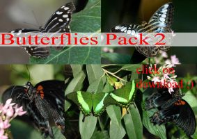 butterflies PACK 2 by whynotastock