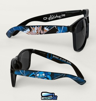 Ghost in the Shell sunglasses by Ketchupize