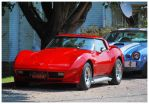 Hot Red Corvette by TheMan268