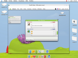 My OS X on Pear pc emulator by lapinbionic