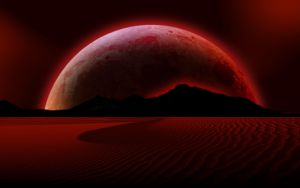 Blood Moon Rising by PeterPawn