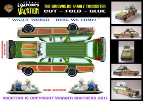 Vacation - Family Truckster by mikedaws