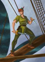 Peter Pan by ArtCrawl