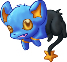 CUTE Shinx by dragowlfly