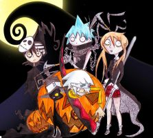 Soul Eater's this is Halloween by Contenebratio