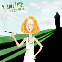 The Great Gatsby Book Cover by LightningRodOfHate