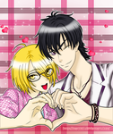 Love Stage!! Izumi y Ryoma by Mary147