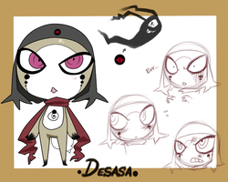 .Desasa ref sheet. by Basy-chan
