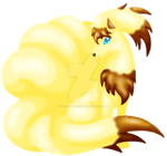 Ninetails Recolor by kunai-of-the-sand