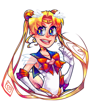 Spooper Sailor Moon by Krooked-Glasses