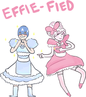 Effie and Cap by SweetTeaNPeaches