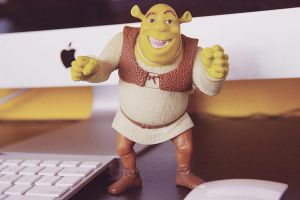 Shrek by mastashish