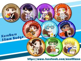 KnB - chibi set by mao00mao