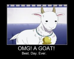 Goat Motivational Poster by CanadianGothStalker