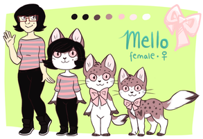 Stripes and Polka dots by mellocat