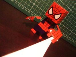 Spider-Man Paper Toy by papertoyadventures