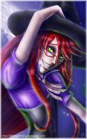 Happy Halloween Grell 2013 Close Up by fallnangeltears
