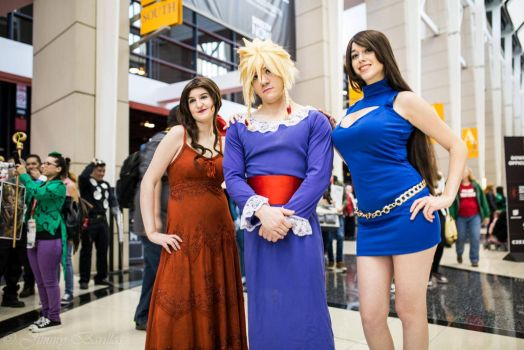 Final Fantasy 7 Wallmarket C2E2 by sarita1893