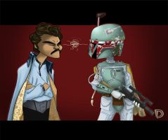 Lando Glared First... by DouggieDoo