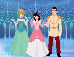 Cinderella's Family by M-Mannering