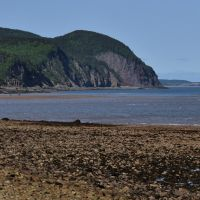 Cape Enrage at low tide by Brian-B-Photography