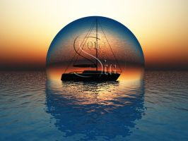 The Sphere Boat by VisionDream