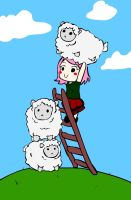 Sheep Stack by xXx-PixelCat-xXx