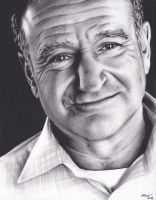 Robin Williams Tribute by xabigal-eyesx