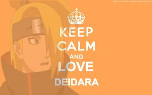 Keep Calm collection [Deidara] by My-Artistic-Deidara
