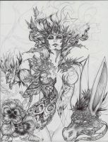 A Midsummer Night's Dream wip 3 by driany