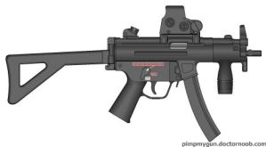 MP5K PDW by jmig3