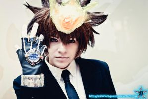 +Tsuna+ - Juudaime's Gaze by Velours-Requiem