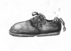 9 - The Napping Shoe by Pickledsuicune