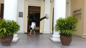Hand Stand by superjabba425