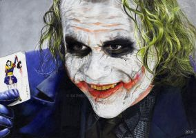 Heath LEDGER by Sadness40