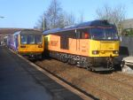 NT 142 052 and Colas 60 002 at Lostock Hall by BoomSonic514