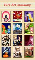 {Y0S0yMar a Pandi-Mar} 2014 Art Summary by Pandi-Mar