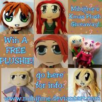 FREE PLUSHIE GIVEAWAY 2013!!! [ 5 hours to go!!!] by mihijime