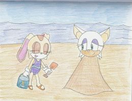 'A Day at the Beach 3' by PhantomShadow051