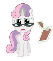Psychologist Sweetie Belle by Birdco