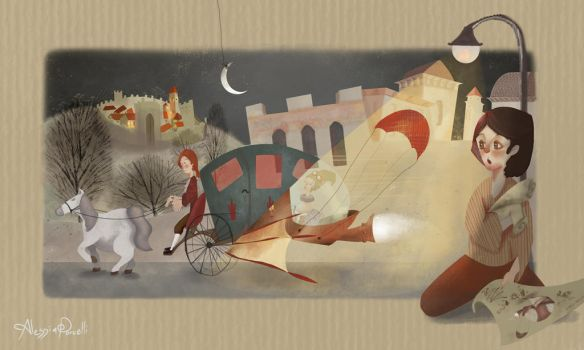 Children illustration- Imagination by AlessiaUndomiel