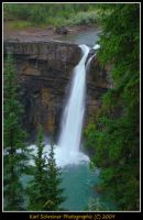 Crescent Falls by KSPhotographic