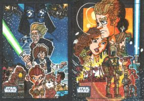 Topps Star Wars Galaxy 6 - 09 by JoeHoganArt