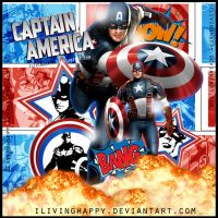 +Blend CaptainAmerica by iLivingHappy
