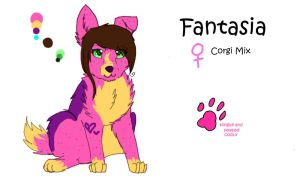 Fantasia Ref Sheet by PurryProductions-Inc