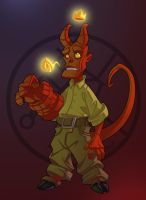 Hellboy Jr by Javas